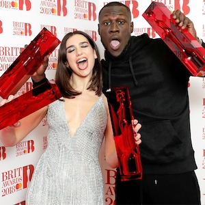 Dua Lipa, Stormzy, Brit Awards 2018